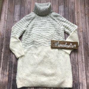NWT Anthropologie Sleeping on Snow Sweater Dress